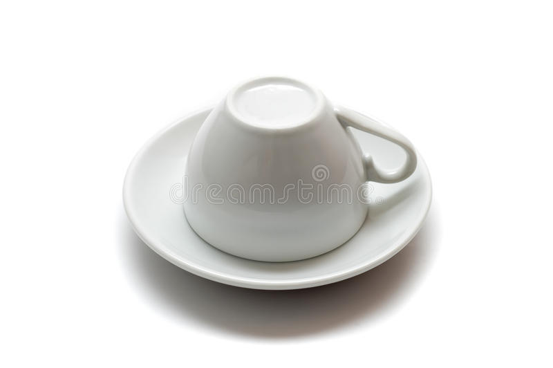 下来杯子增长 免版税库存图片
