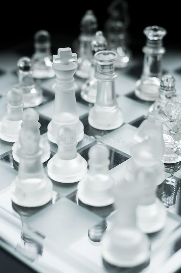 下棋比赛 免版税库存图片