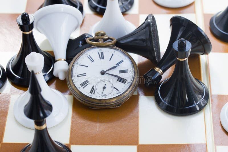 下棋比赛 免版税库存照片