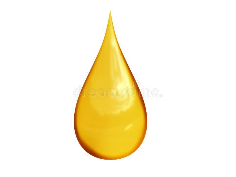下落油 向量例证