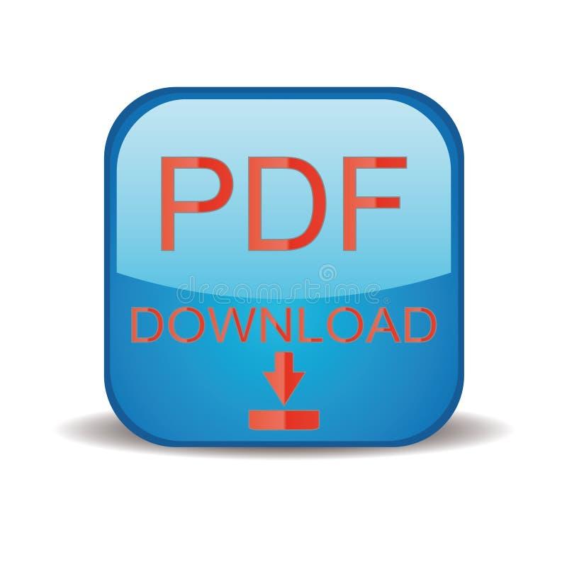 下载图标pdf 库存例证