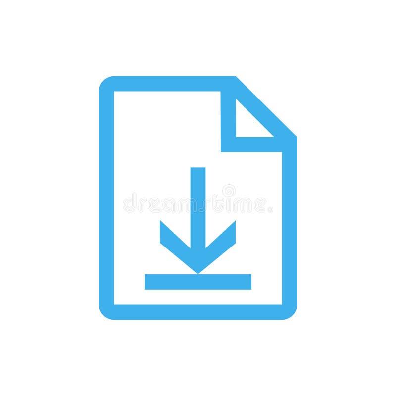 下载文件 库存例证
