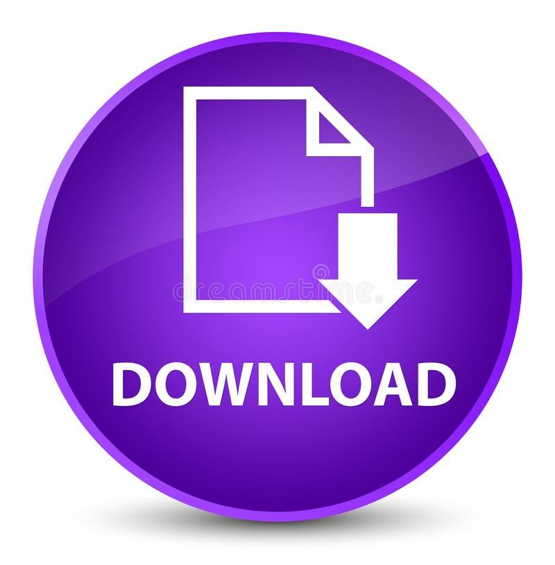 下载(文件象)典雅的紫色圆的按钮 库存例证