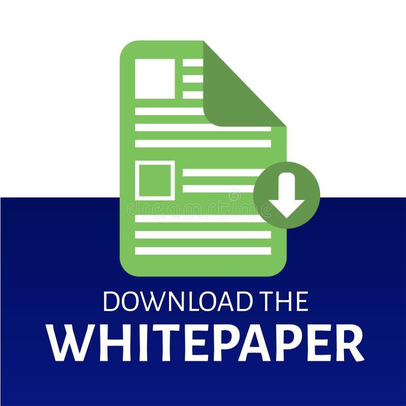 下载Whitepaper图表 皇族释放例证