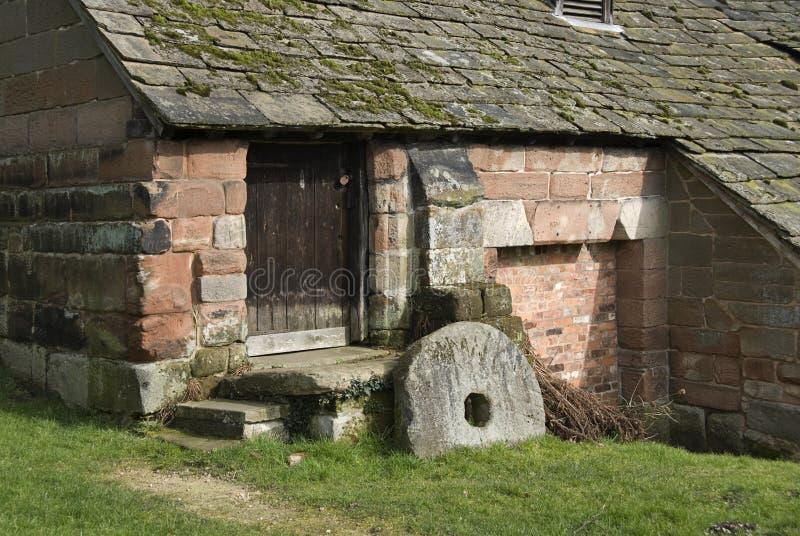 下面alderley的磨房 库存照片