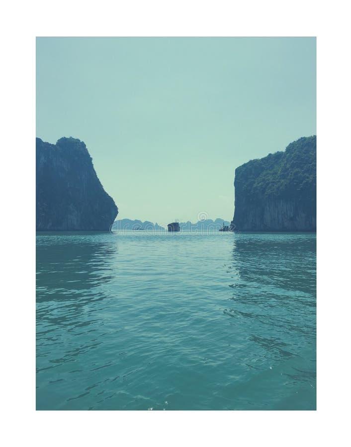 下龙湾-越南 库存照片