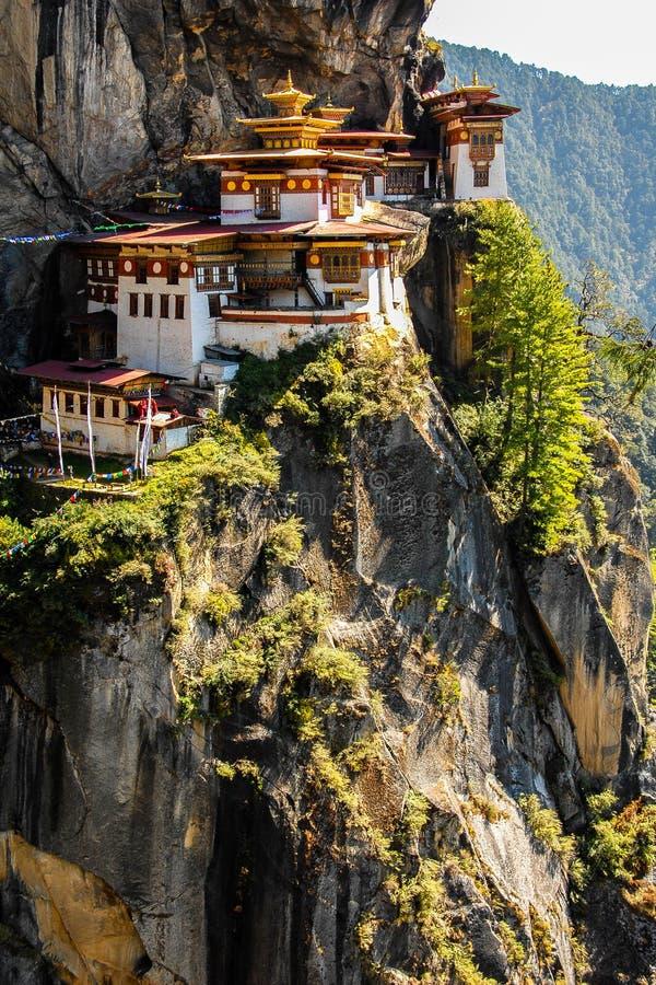 不丹寺庙 库存照片