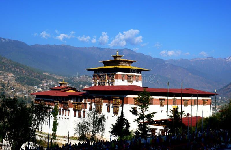 不丹的冒险 免版税库存图片