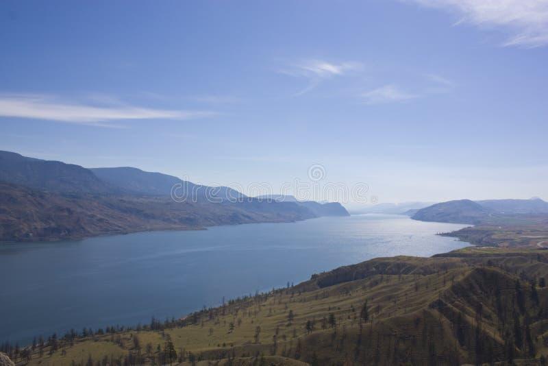 不列颠哥伦比亚省湖 免版税图库摄影
