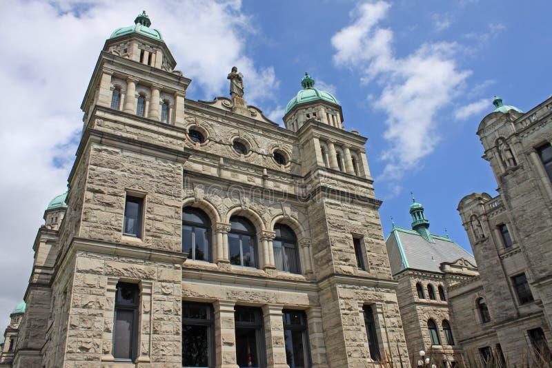 不列颠哥伦比亚省议会大厦 免版税库存照片