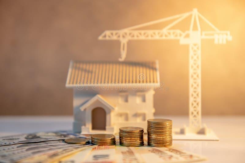 不动产开发,建筑业投资 免版税图库摄影