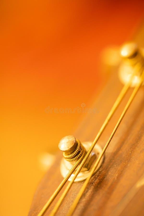 不可思议的吉他 免版税库存照片