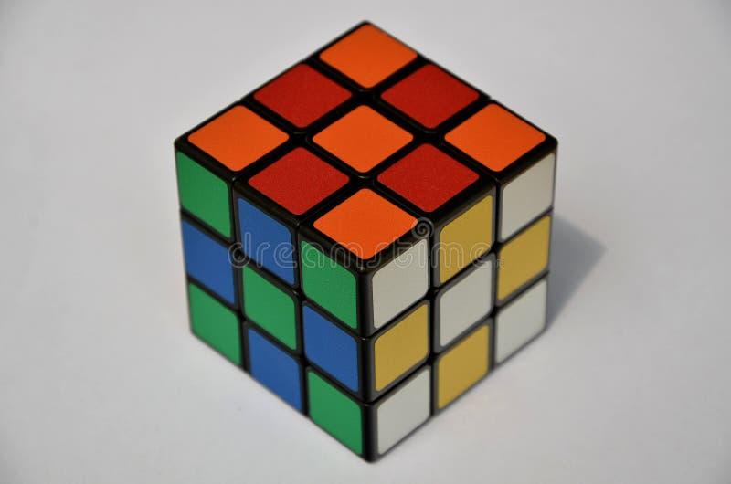 不可思议的立方体 免版税库存图片
