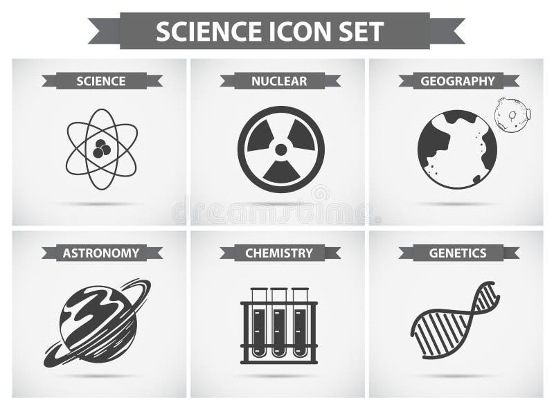 不同的学科领域的科学象 皇族释放例证