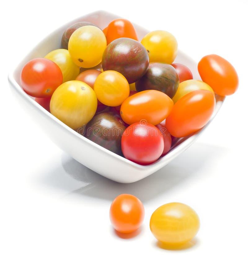 不同的类蕃茄。 免版税库存图片