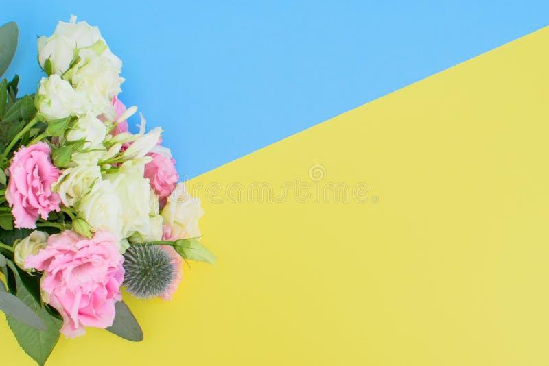 不同的花花束  库存图片