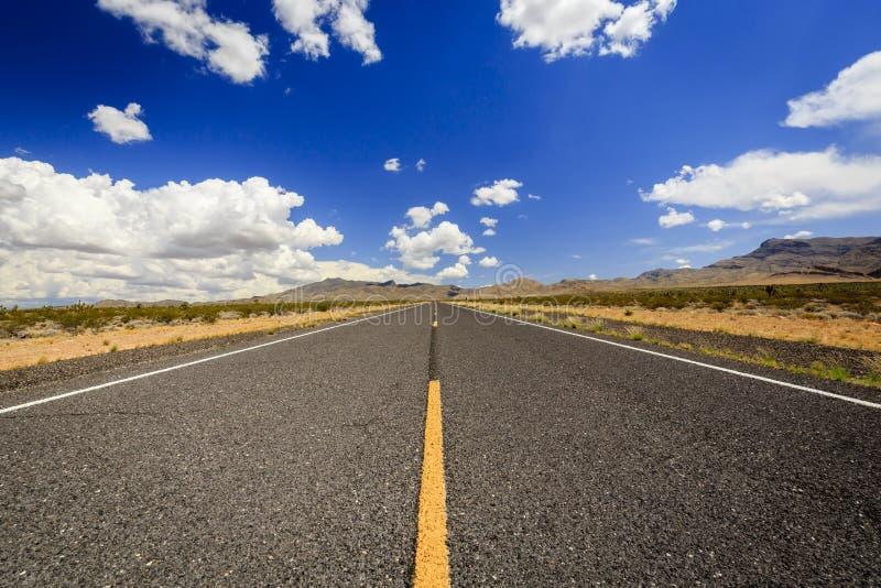 不尽的高速公路91 nearLittlefield 图库摄影