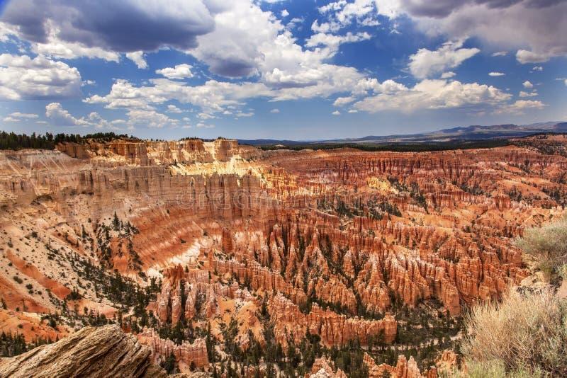 不祥之物启发点布莱斯峡谷国家公园犹他 免版税库存照片