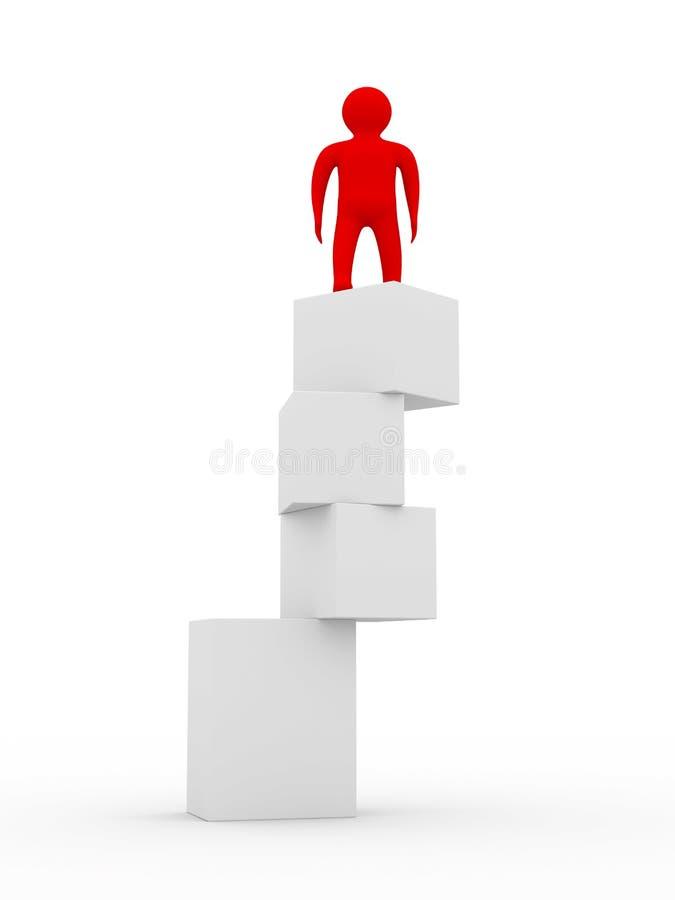 不稳定的平衡 向量例证