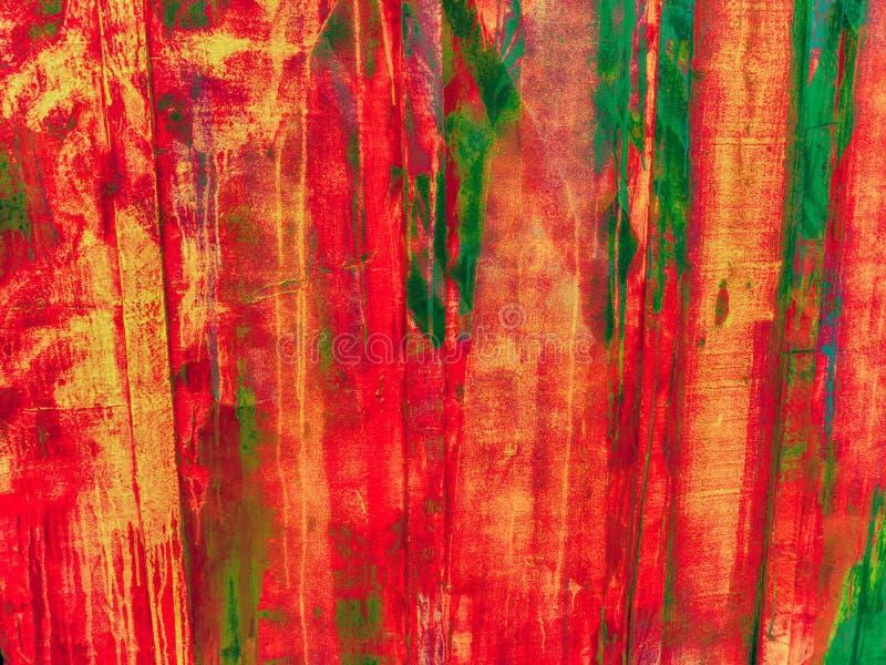 不粘附喷涂物在墙壁上的油漆冲刷 免版税库存照片