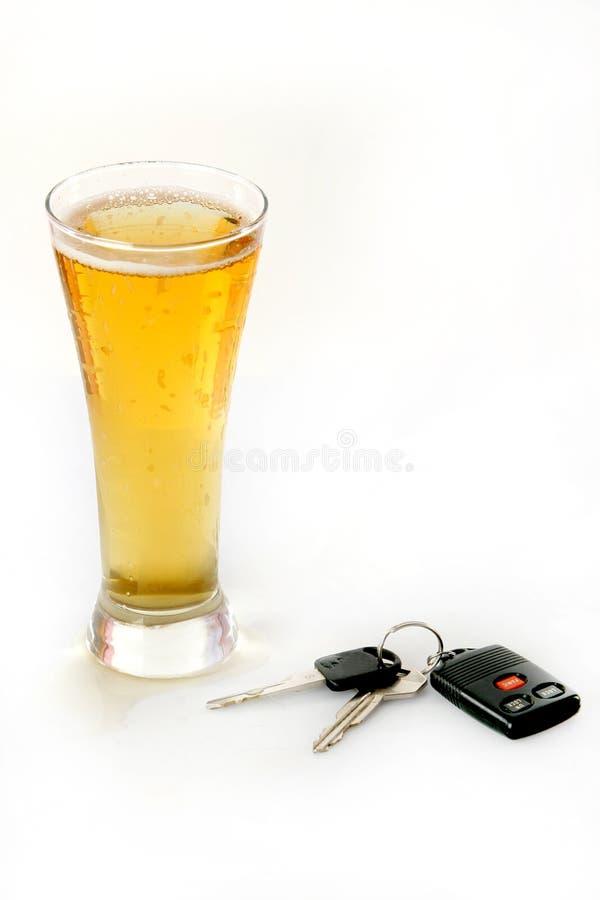 不要喝驱动器 免版税库存图片