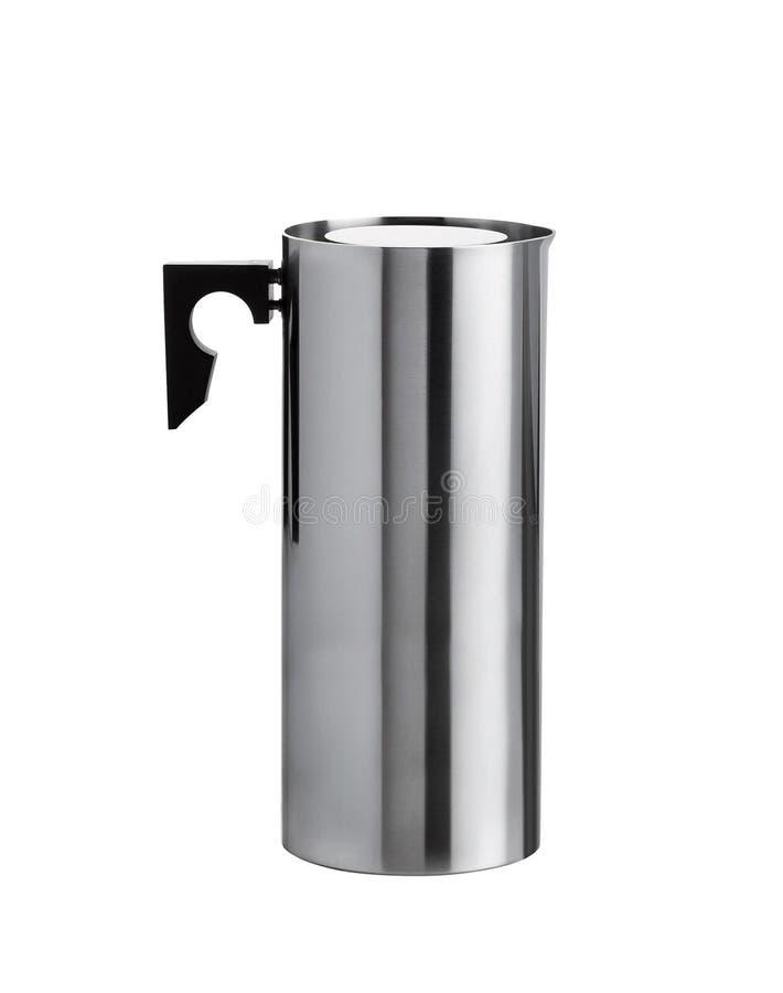 不锈的电水壶 免版税库存图片