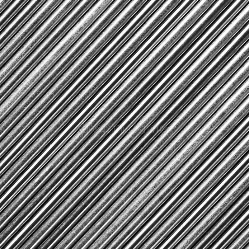 不锈钢标尺纹理 免版税库存照片