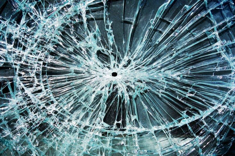玻璃断裂 免版税库存照片