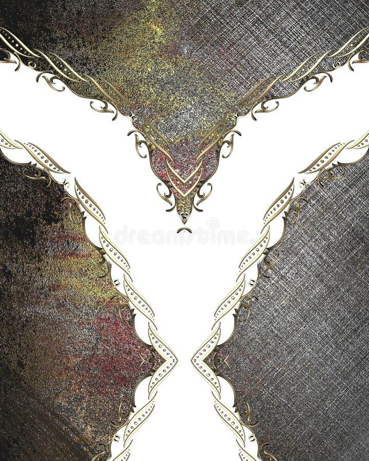 与一个样式的抽象难看的东西背景与装饰品 设计的模板 复制广告小册子或公告invitati的空间 向量例证