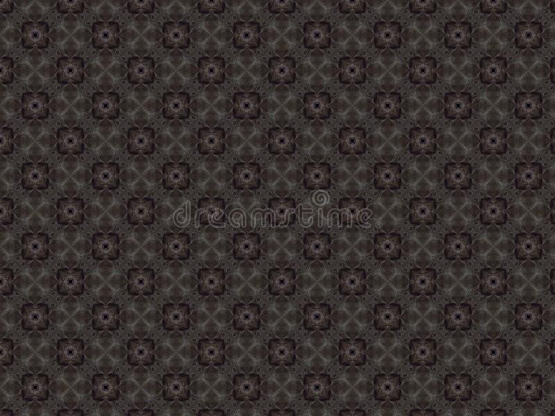与一个欢乐样式的容量背景,缝与银色螺纹以花锦织品的形式 向量例证