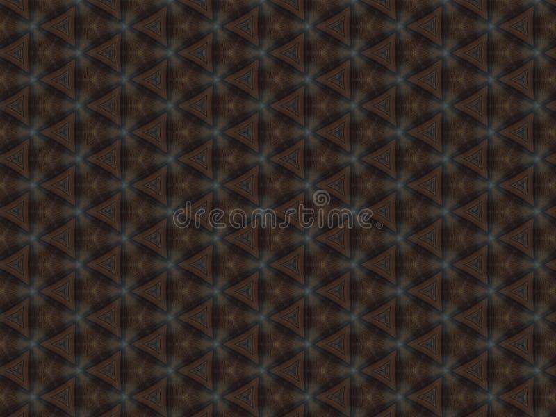 与三角几何样式的皮革纹理帆布 免版税库存照片