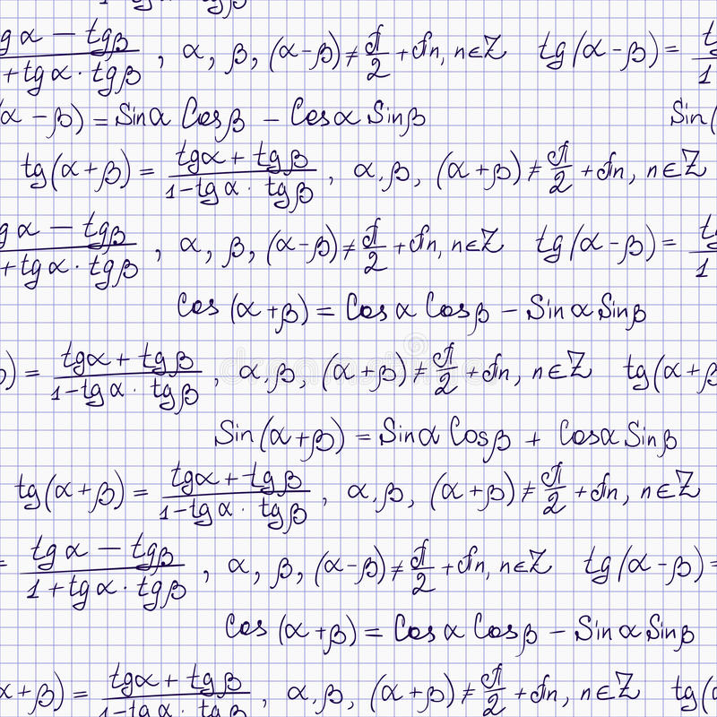 与三角惯例的无缝的样式 库存例证