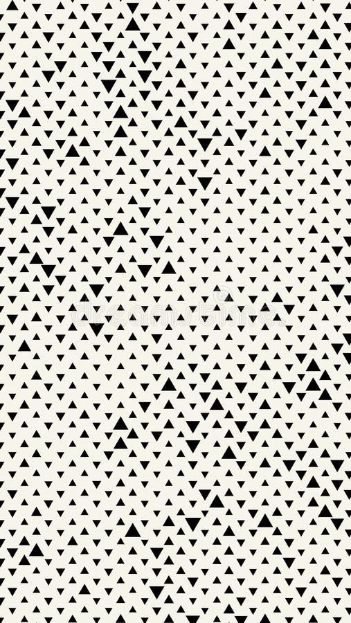 与三角的垂直的长方形横幅 几何模式 在现代最低纲领派样式的背景 也corel凹道例证向量 库存例证