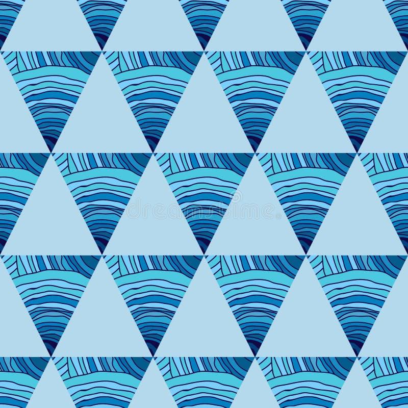 Download 与三角的抽象无缝的样式 向量例证. 插画 包括有 减速火箭, 装饰, 不尽, 打印, 织品, 无缝, 辐形 - 62538943