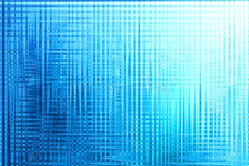 与不显眼的亮光的Abstrack蓝色背景 图库摄影