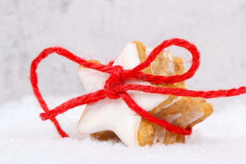 与丝带的桂香星 免版税库存图片