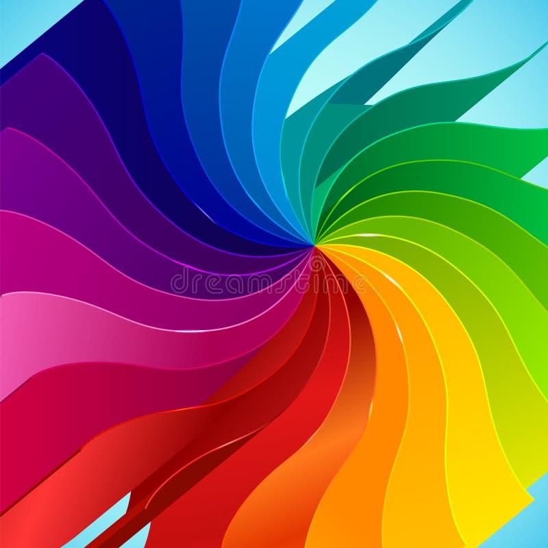 Download 与书的五颜六色的背景呼叫彩虹 向量例证. 插画 包括有 要素, 颜色, 庆祝, bambi, 背包, 装饰 - 30337917