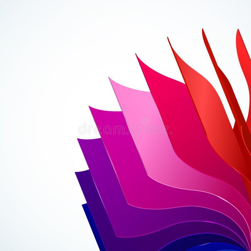 Download 与书的五颜六色的背景呼叫彩虹 向量例证. 插画 包括有 装饰, 展开, 照亮, 油漆, 颜色, 创造性, 盖子 - 30337932