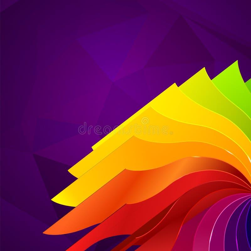 Download 与书的五颜六色的背景呼叫彩虹 向量例证. 插画 包括有 黑暗, 庆祝, 橙色, 艺术, 框架, 看板卡, 新鲜 - 30337942