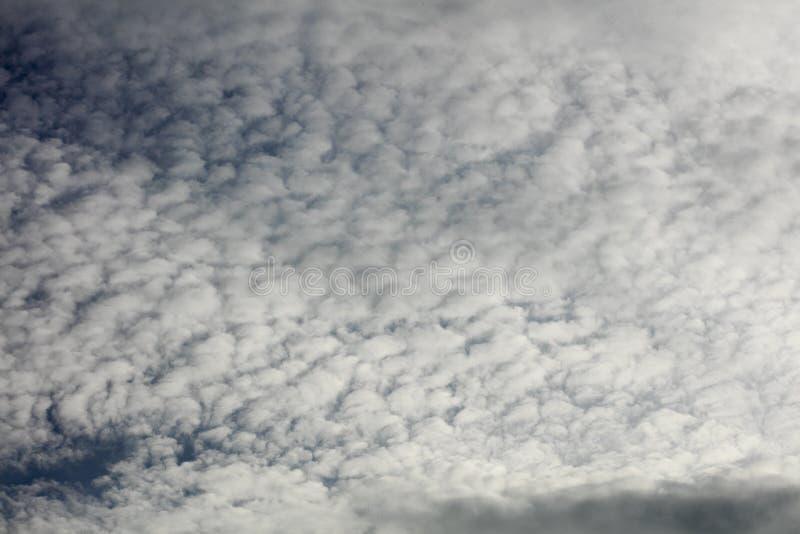 与云彩哀伤的心情夏天宏观背景美术的灰色天空在优质印刷品产品五十megapixels 库存照片