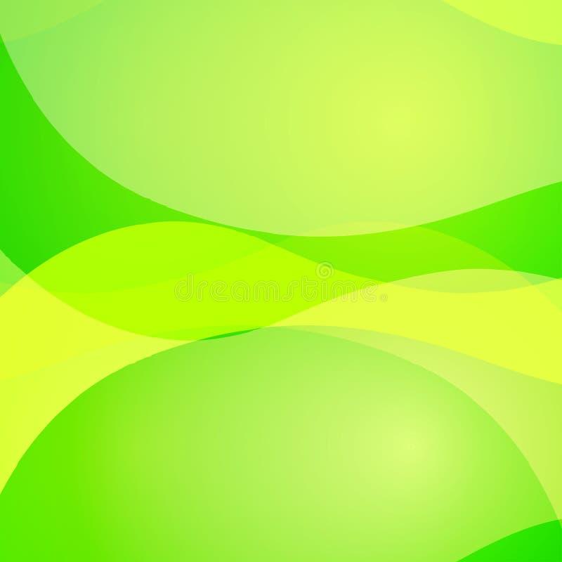 与五颜六色的波浪线的五颜六色的抽象明亮的背景 装饰设计纹理 皇族释放例证
