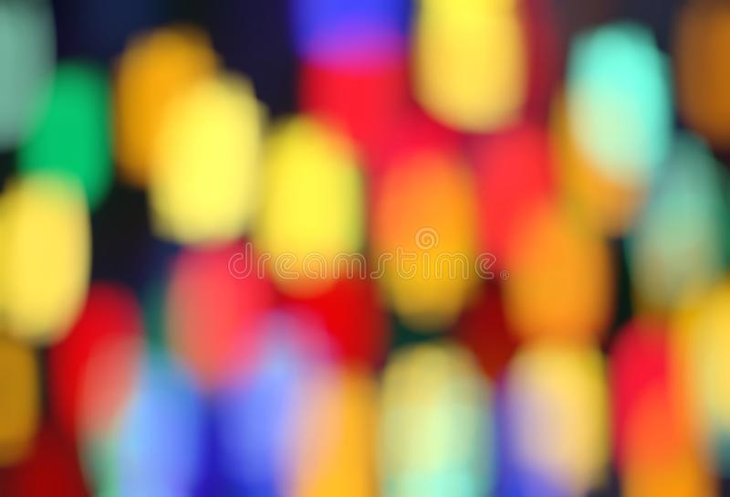 与五颜六色的被弄脏的样式的明亮的背景 向量例证