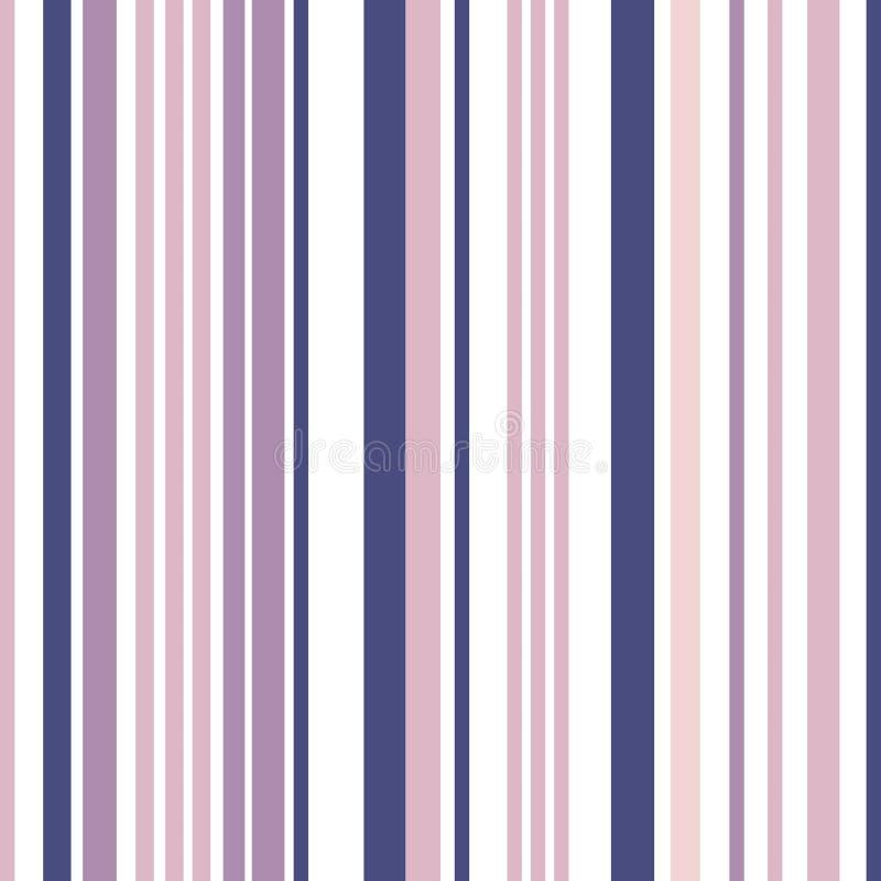 与五颜六色的颜色平行的条纹的条纹无缝的样式 库存例证