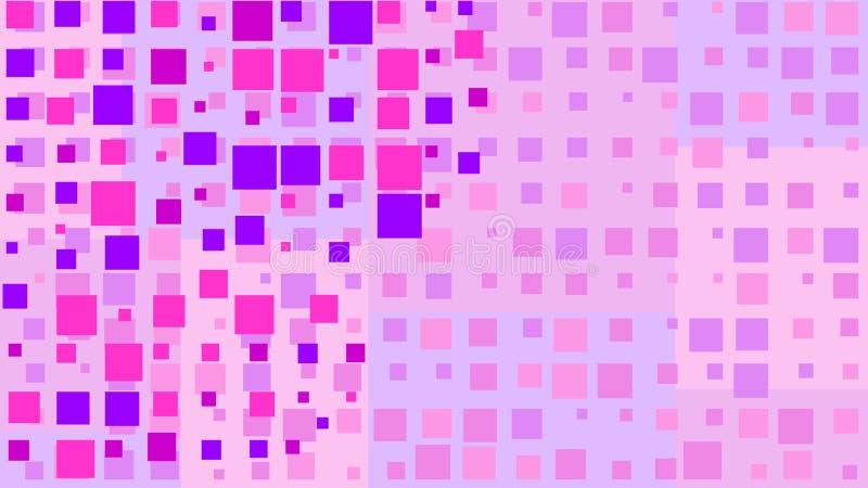 与任意地色的立方体的简单的背景-传染媒介例证 向量例证