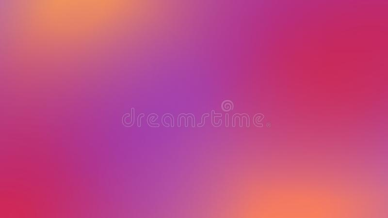 与光的抽象桃红色,紫色和橙色被弄脏的梯度背景 n 向量例证
