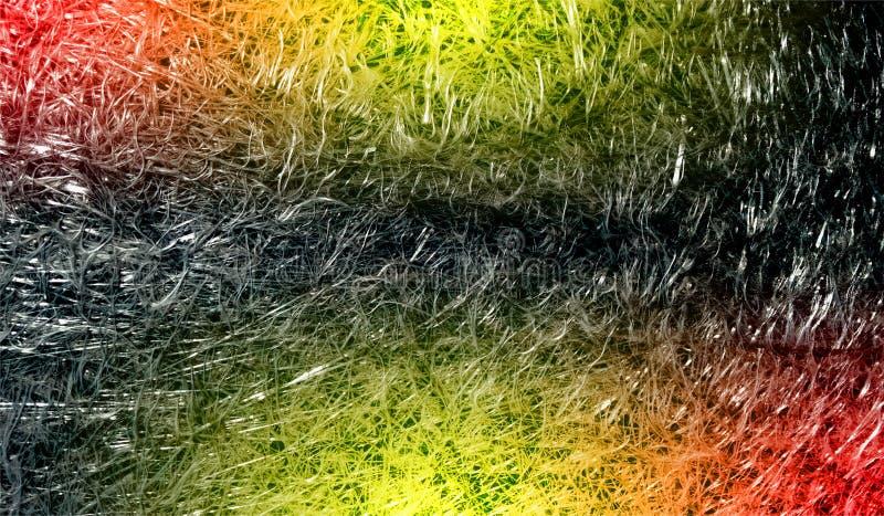 与光线影响的摘要多彩多姿的被遮蔽的发光的金属闪光织地不很细背景 背景,墙纸 免版税图库摄影