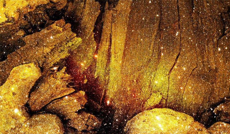 与光线影响的摘要多彩多姿的被遮蔽的闪烁织地不很细背景 背景,墙纸 免版税库存照片