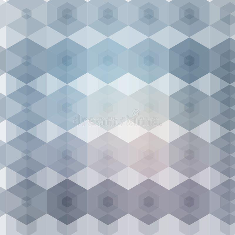与几何样式的抽象背景 EPS10向量例证 向量例证
