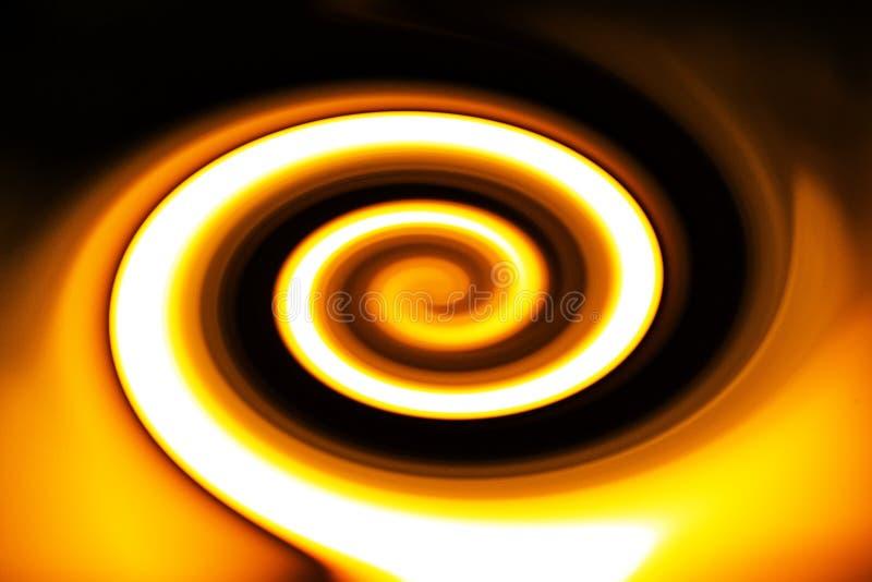 与动态运动的五颜六色的螺旋 向量例证