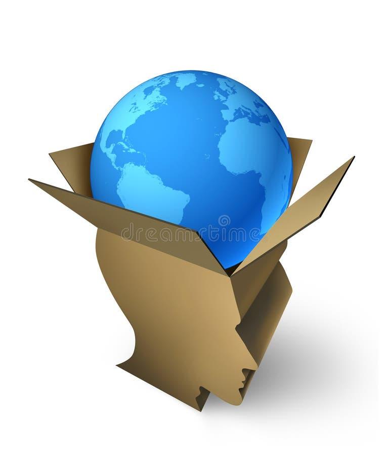 全球性运输管理 库存例证